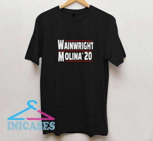 Wainwright Molina 2020 Red Line T Shirt