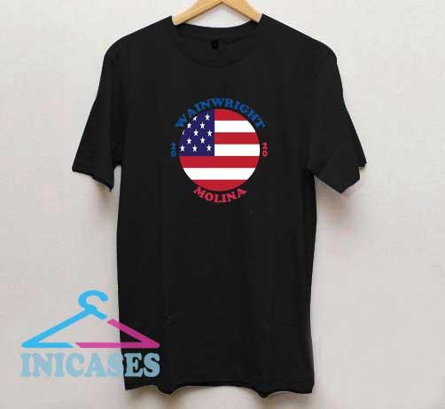 Wainwright Molina 2020 US Flag T Shirt