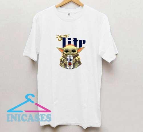 Yoda Hug Miller Lite T Shirt