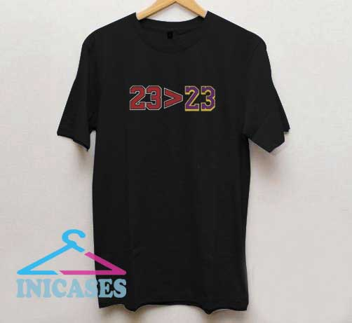 23 23 Michael Jordan LeBron James T Shirt