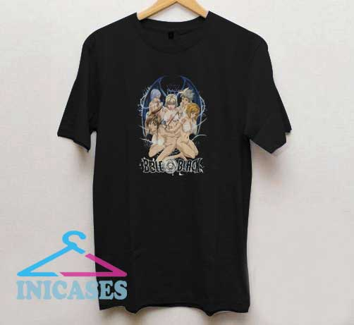Anime Bible Black T Shirt