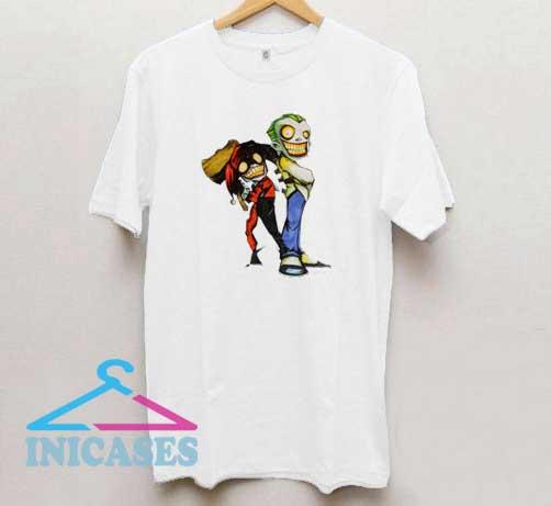 Barely Quinn n The Joker T Shirt