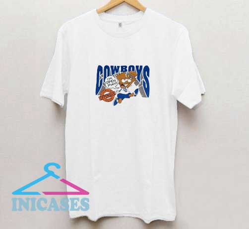 Bart Simpson Dallas Cowboys T Shirt