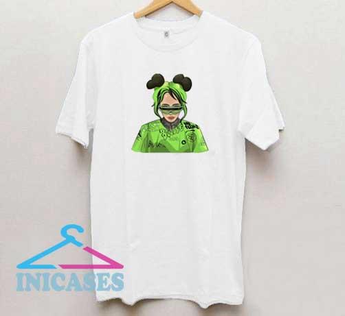 Billie Eilish Cartoon Art T Shirt