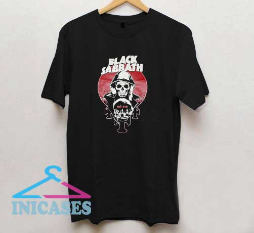 Black Sabbath The End Skull T Shirt