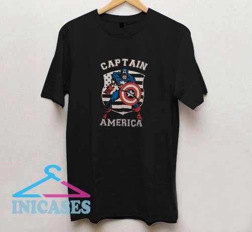 Captain America Vintage T Shirt