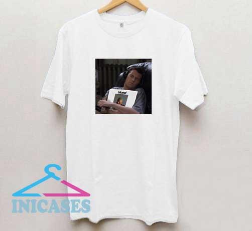 Chandler Holding Frank Ocean Album T Shirt