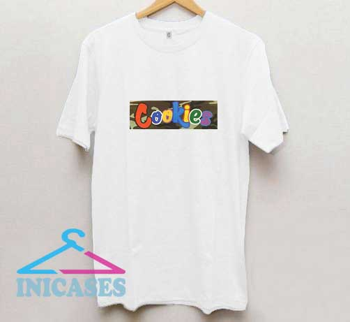 Cookies Box Logo T Shirt