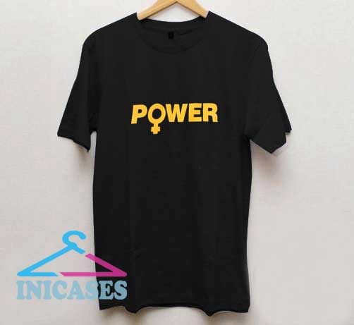 Feminist Power Girl T Shirt