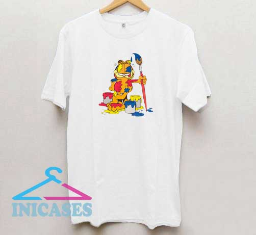 Garfield Painting T Shirt