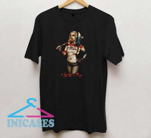 Harley Quinn In Squad We Trust T Shirt