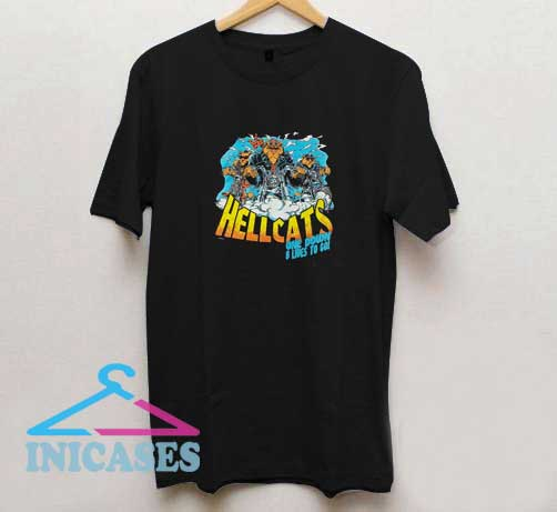 Hellcats One Down 8 Lives T Shirt