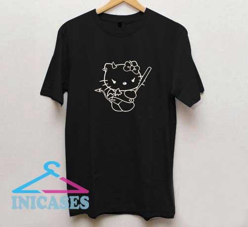 Hello Kitty Devil T Shirt