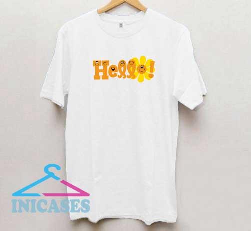 Hello Sunflower T Shirt