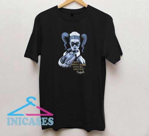 Inmate Harley Quinn Batman T Shirt