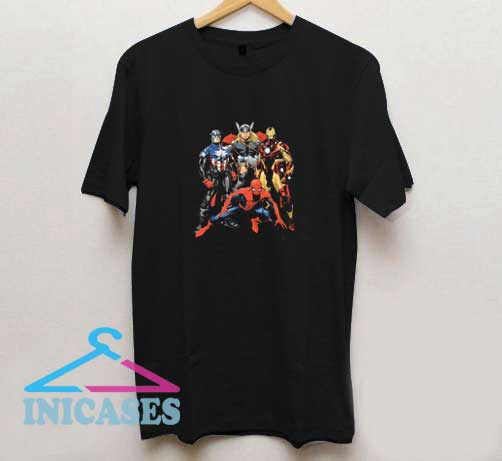 Marvel Superheroes Graphic T Shirt
