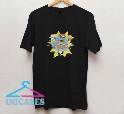 Marvels Avengers Chibi T Shirt