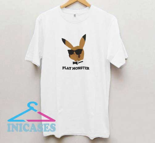 Pikachu Play Monster T Shirt