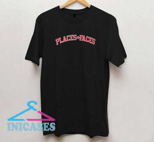 Places and Faces Logo T Shirt