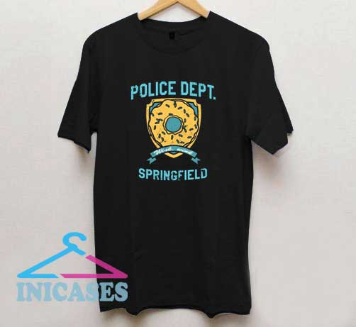 Police Dept of Springfield T Shirt