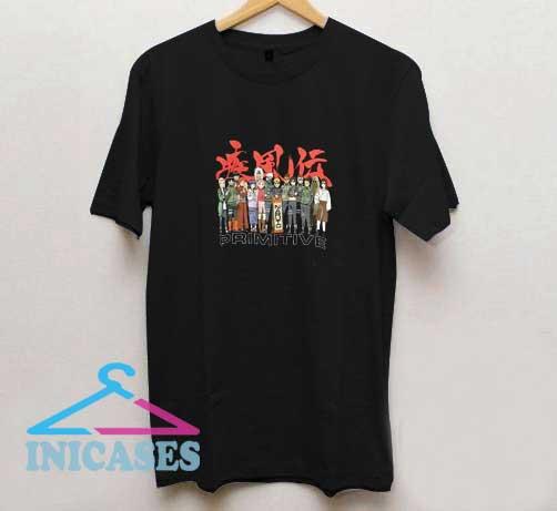 Primitive x Naruto T Shirt