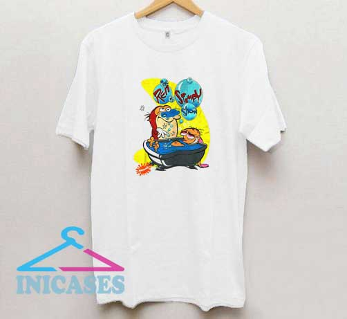 Ren And Stimpy Show Nicktoons T Shirt