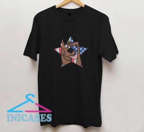 Scooby Doo Star USA T Shirt