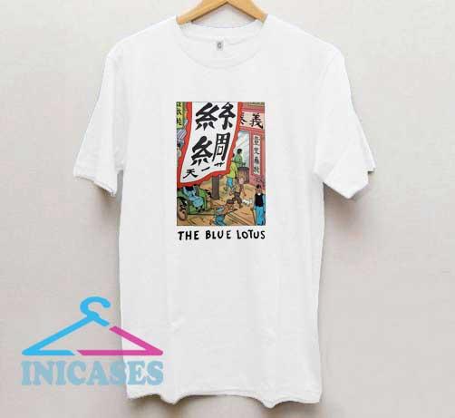 Tintin the Blue Lotus T Shirt