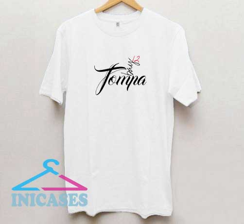 Tompa Bay Letter T Shirt
