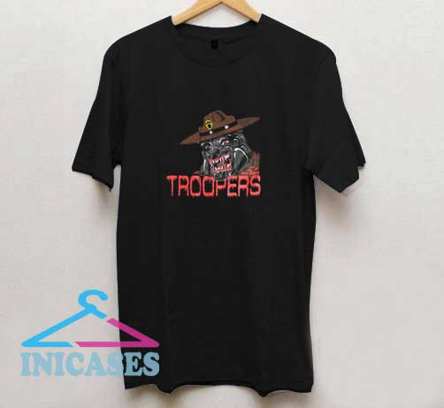 Troopers Bulldog T Shirt