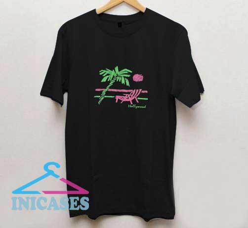 Vintage Hollywood Print T Shirt