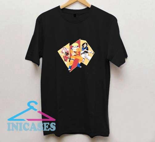 Vintage Naruto Characters T Shirt