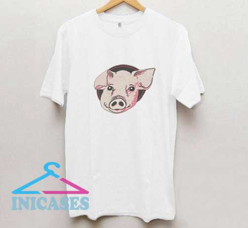 Vintage Pig Cartoon T Shirt