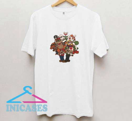 Vintage Super Mario T Shirt