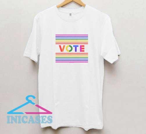 Vote Pride T Shirt