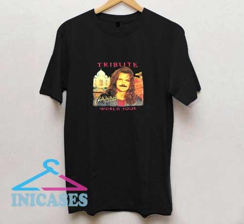 Vtg Yanni World Tour T Shirt