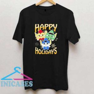 Elves Happy Holidays T Shirt