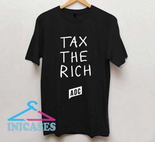 AOC Tax The Rich T Shirt