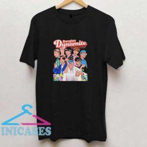BTS Dynamite Graphic T Shirt