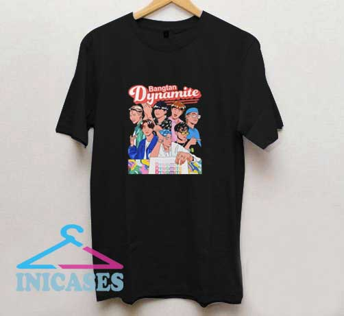 BTS Dynamite Graphic T Shirt