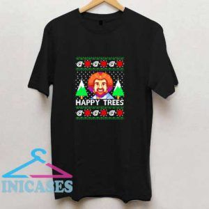 Bob Ross Happy Trees T Shirt