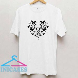 Butterfly Snakes Graphic T Shirt