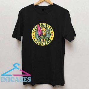 California Los Angeles Surfing T Shirt