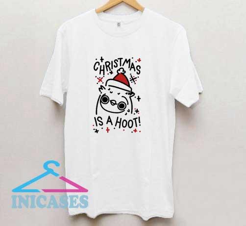 Christmas Is A Hoot T Shirt
