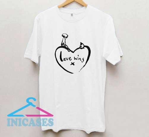 Comic Relief Love Wins T Shirt