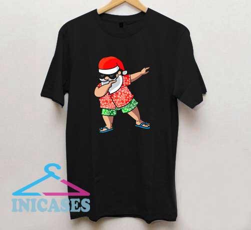 Dabbing Santa Christmas T Shirt