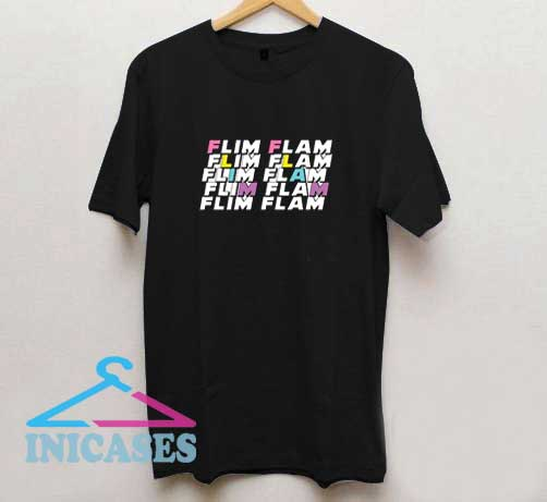 Flim Flam Letter T Shirt