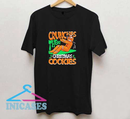 Gingerbread Crunches Christmas T Shirt