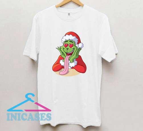 Grinch Love Christmas T Shirt