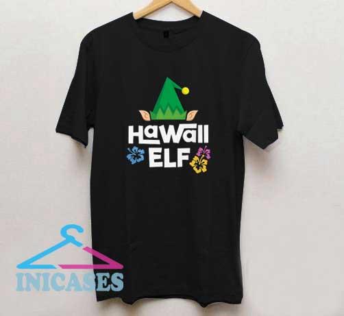 Hawaii Elf Christmas T Shirt